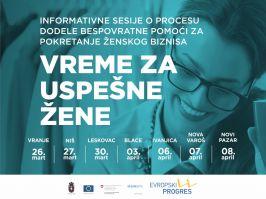 Vreme za uspešne žene kako do bespovratnih sredstava za pokretanje ženskog biznisa