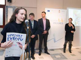 Sofija Jelić iz Nove Varoši dobitnica je prve nagrade na likovnom konkursu za kalendar Evropskog PROGRESa za 2015  godinu