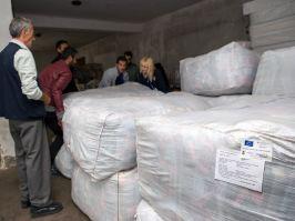 Stigla evropska pomoć migrantima u Preševu