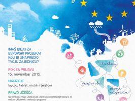 Počinje likovni konkurs za kalendar Evropskog PROGRESa za 2016