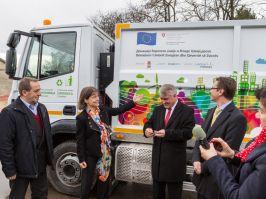 Preševo dobilo novi kamion za odnošenje smeća