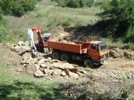 Počeli radovi na zaštiti od poplava na Pustoj reci