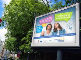 Tvoja ideja, naša podrška - Evropska podrška mladim preduzetnicima i preduzetnicama sa jugoistoka i jugozapada Srbije