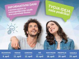 Tvoja ideja  naša podrška - kako da mladi pokrenu svoj biznis