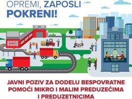 Opremi, zaposli, pokreni - Evropska podrška privrednicima na jugoistoku i jugozapadu Srbije