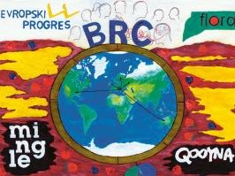 """Rad nagrađen na likovnom konkursu """"Moj omiljeni evropski projekat"""" – Milivoje Konstantinović, Gimnazija Ivanjica"""