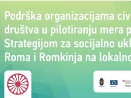Odobreni projekti za inkluziju Roma i Romkinja na lokalnom nivou