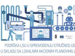 Obuke i stručna praksa za 150 novih radnih mesta na jugoistoku i jugozapadu Srbije